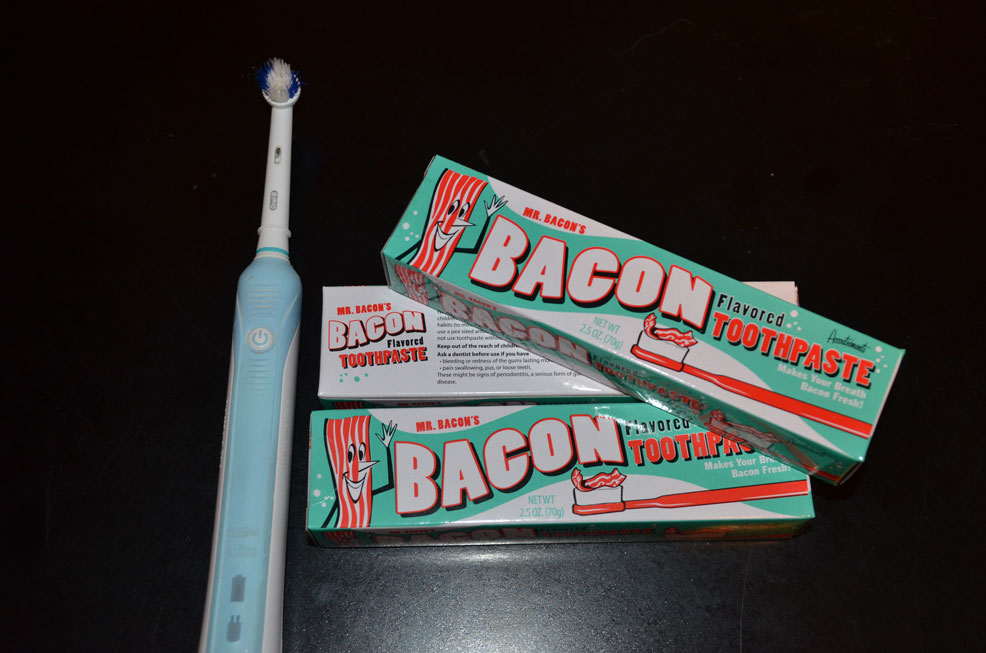 Bacon Flavoured Tooth Paste