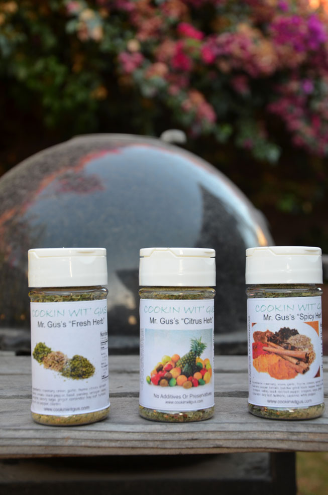 Mr. Gus's Herb Seasoning Sample Pack - Half Dozen