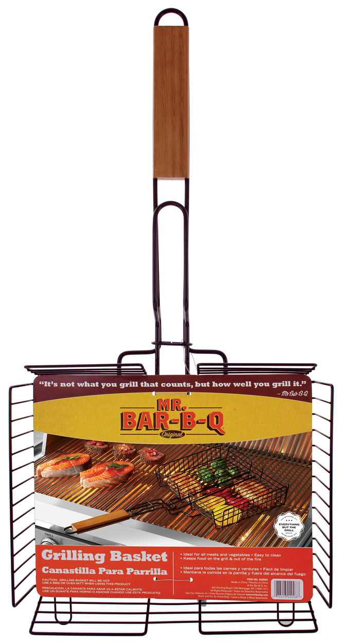 Deluxe NON-STICK Grilling Basket