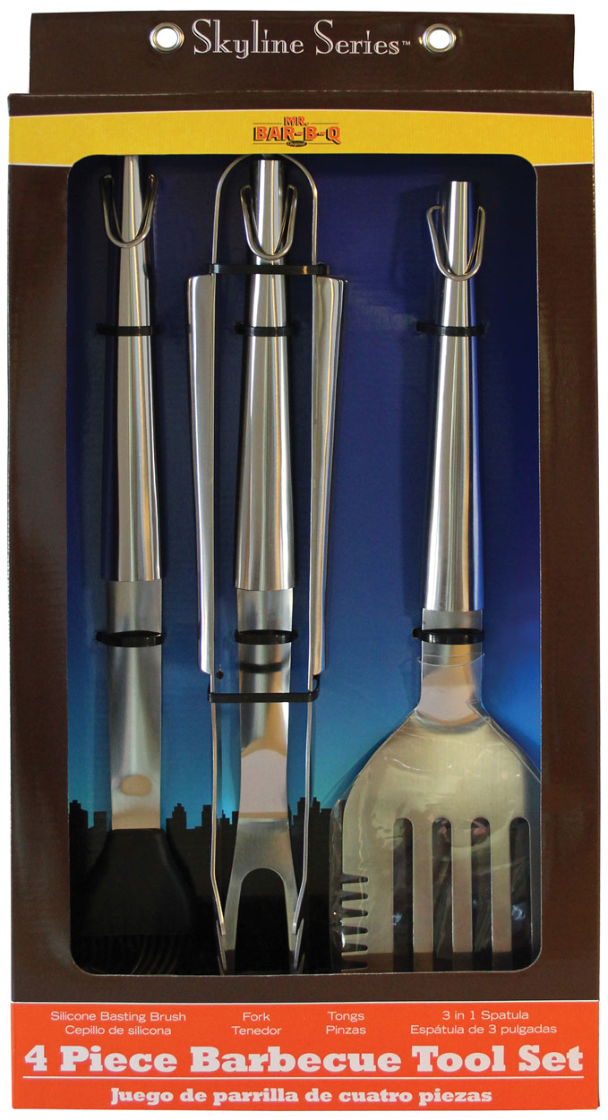 4 PC SKYLINE Series Tool Set