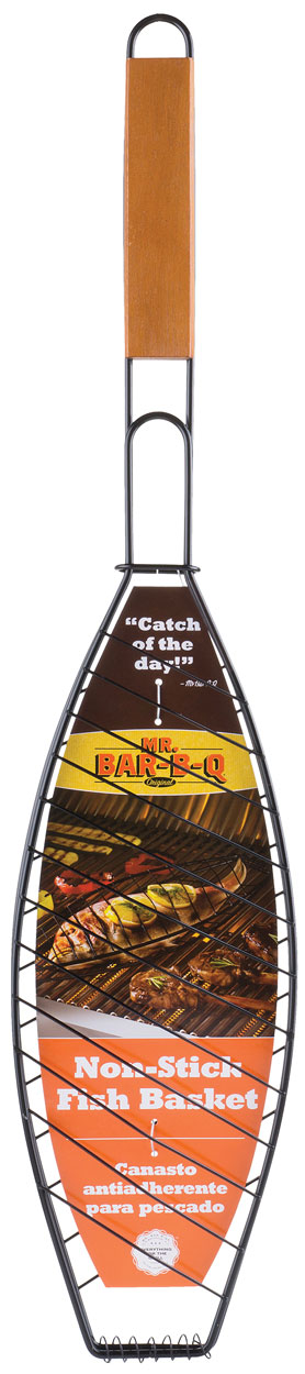 NON-STICK Single Fish Basket
