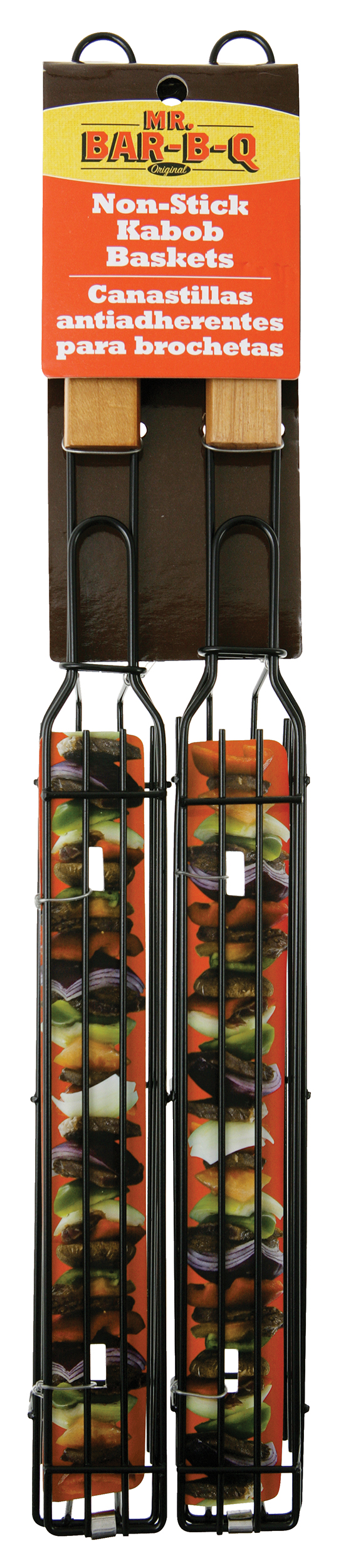 Two Pack Kit - Single NON-STICK Kebab Baskets