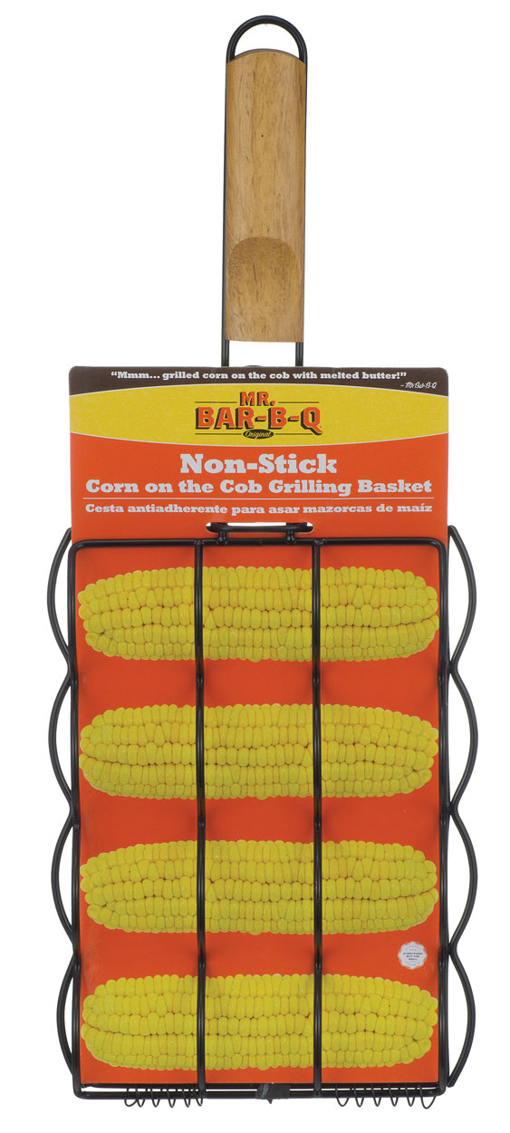 NON STICK CORN ON THE COB GRILL BASKET