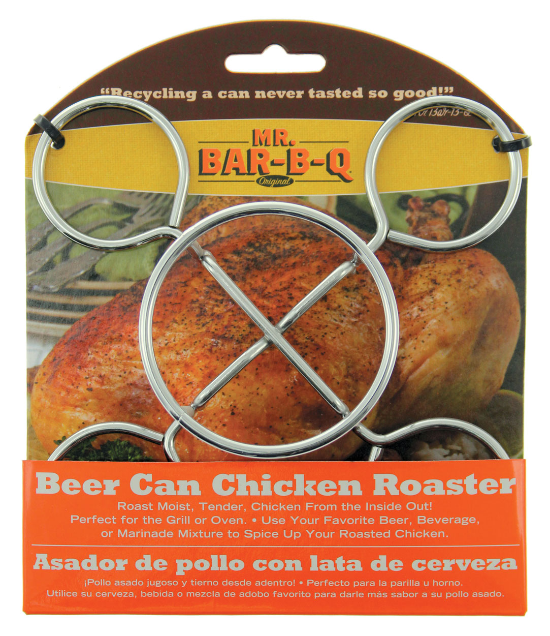 MR B.B.Q. Beer Can Chicken Roaster