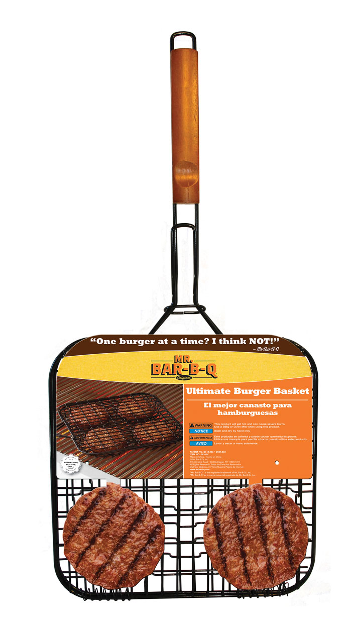DELUXE NON-STICK Burger Basket