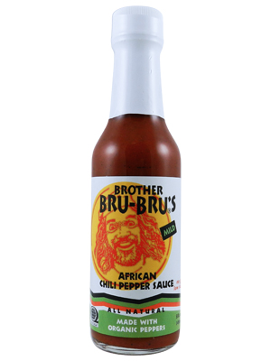 Brother Bru's Mild African Chili Pepper Sauce