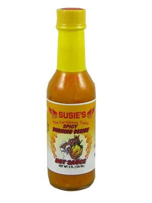 Susie's Burning Desire Hot Sauce