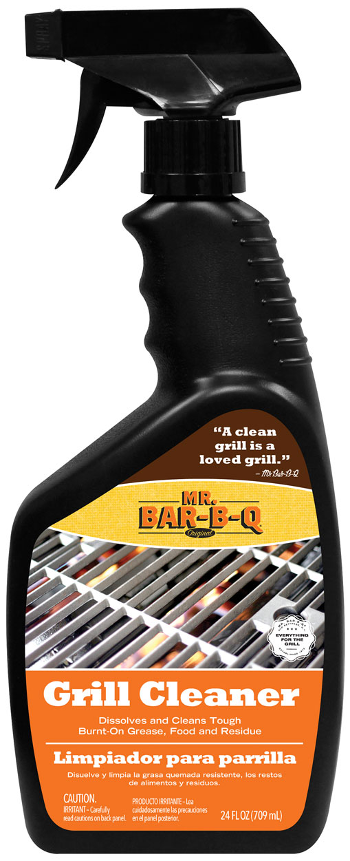 Mr. BBQ GRILL Cleaner In Trigger Bottle 24OZ