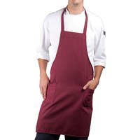 Full Length Apron - Maroon