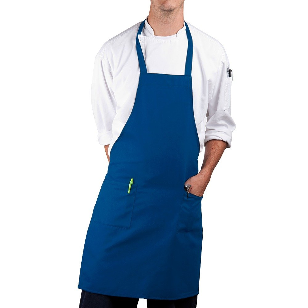 Full Length Apron - Blue