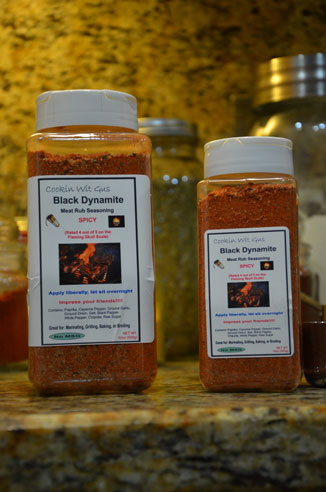 Black Dynamite Rub - 16oz