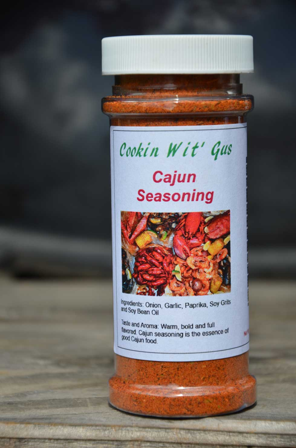 Cajun Seasoning - Bottle