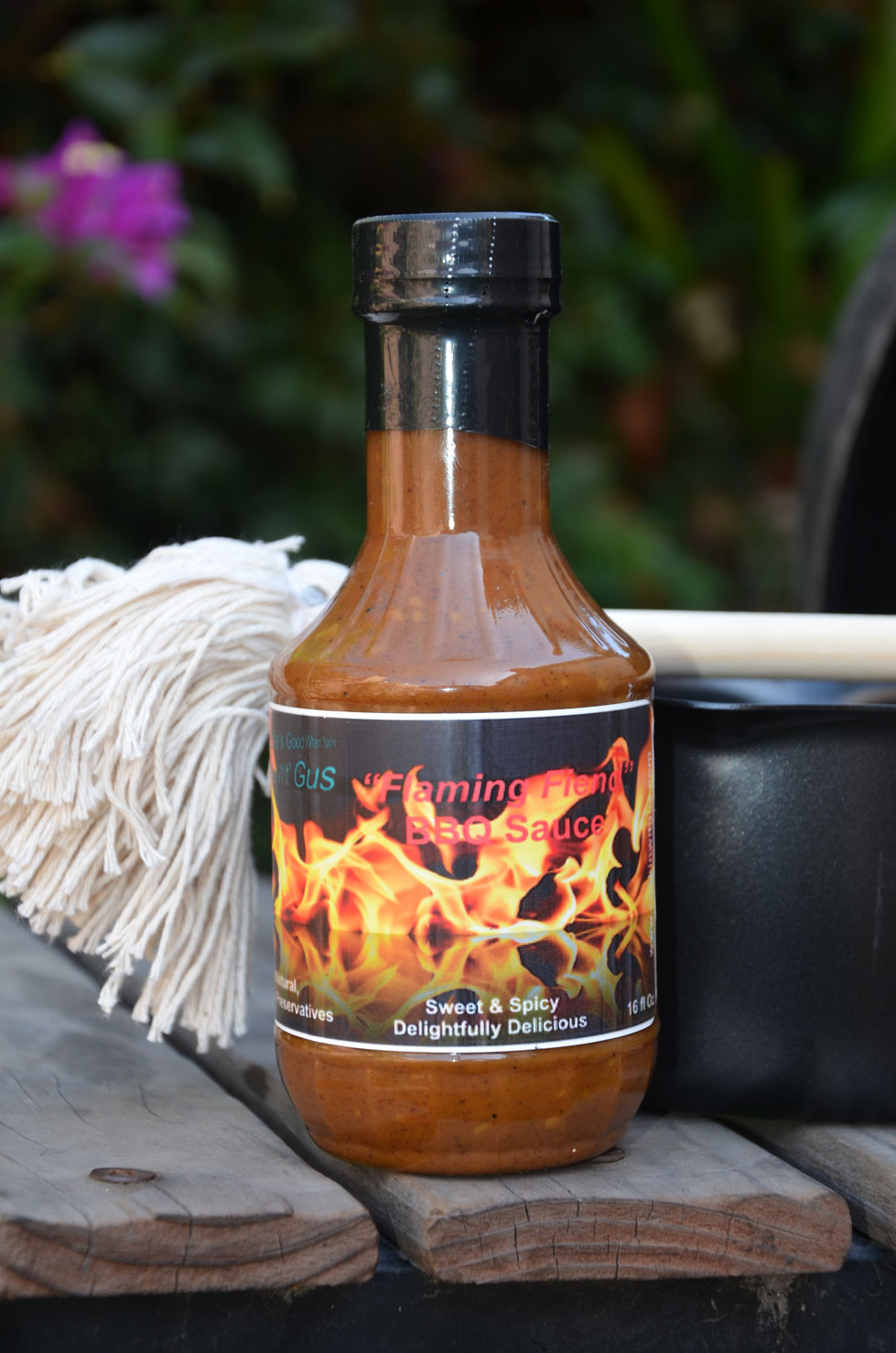 Flaming Fiend BBQ Sauce - 16oz