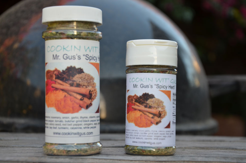 Mr. Gus's Spicy Herb Seasoning - 1.75oz