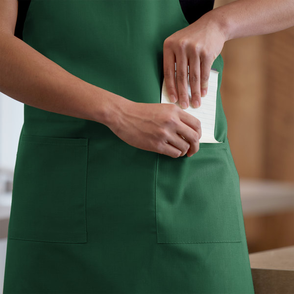 Full Length Apron - Kelly Green