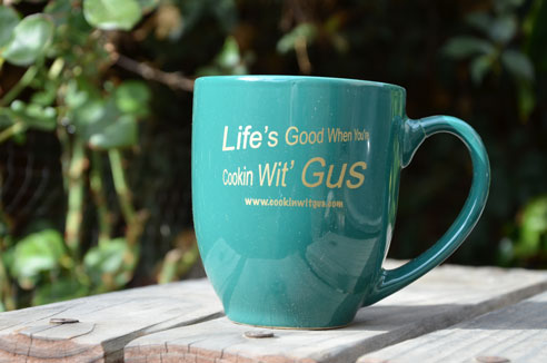 Cookin Wit Gus Mug - Green