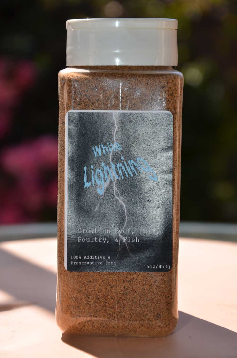 White Lightning Rub - 15oz