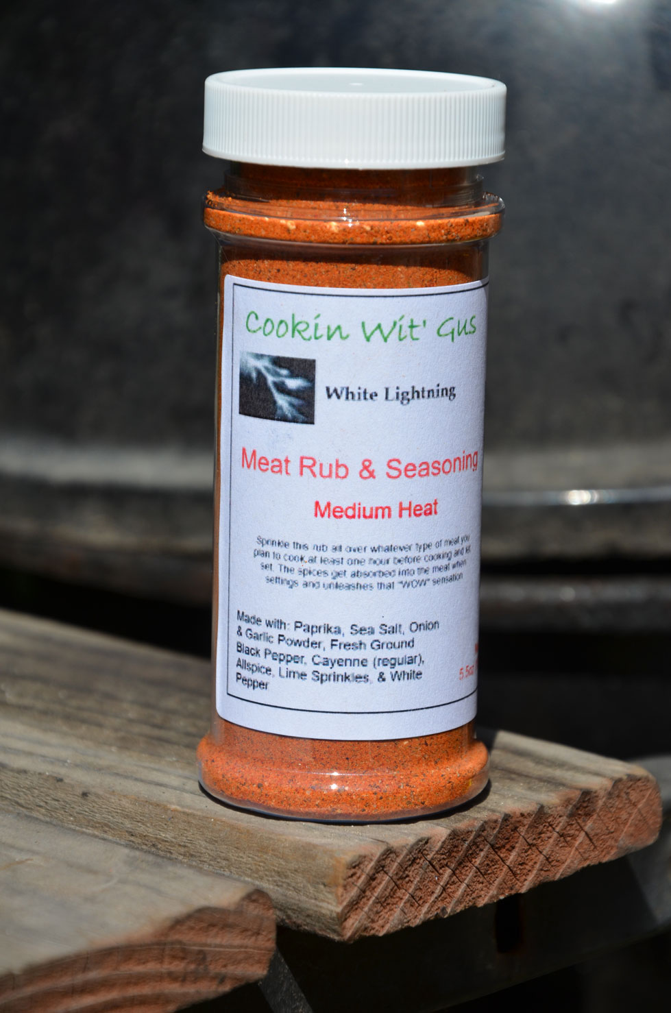 White Lightning Rub - 5oz
